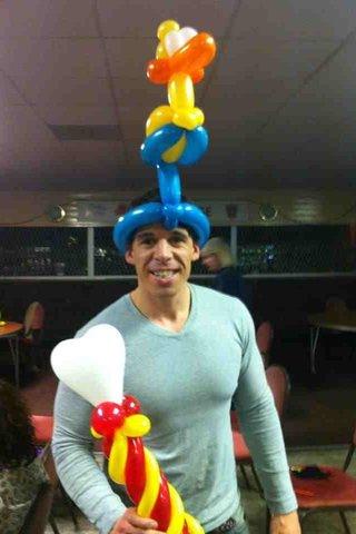 balloon duck hat