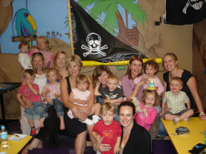 Pirtae kids party